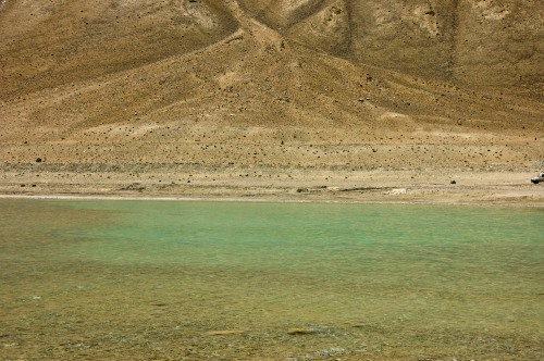 Pangong - light Green Hues
