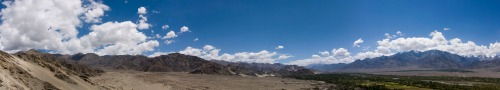 Panoramic View from Thiksey Gompa