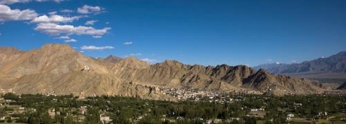 Panorama of Leh Town