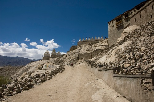 Path to Shey Gompa