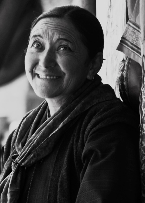 A smile that has warmed many Ladakhi winters