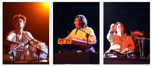 Main Acts on Opening Night - Talvin Singh / Rahul Sharma / Mahesh Vinayakram