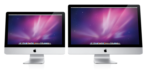 "Apple's new 21.5"" & 27"", 16:9 iMacs"